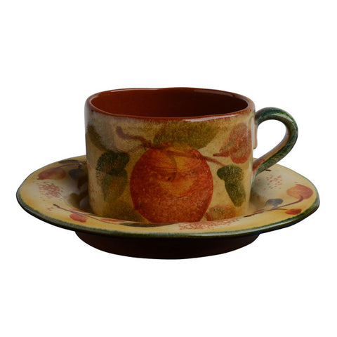 Frutta Laccata Latte Cup and Saucer