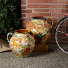 Frutta Laccata Large Decorative Pitcher