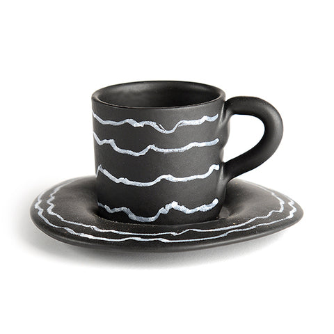 Gessetto Espresso Cup and Saucer
