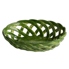 Green Oval Bon Bon Basket