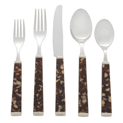Tortoise Five Piece Place Setting
