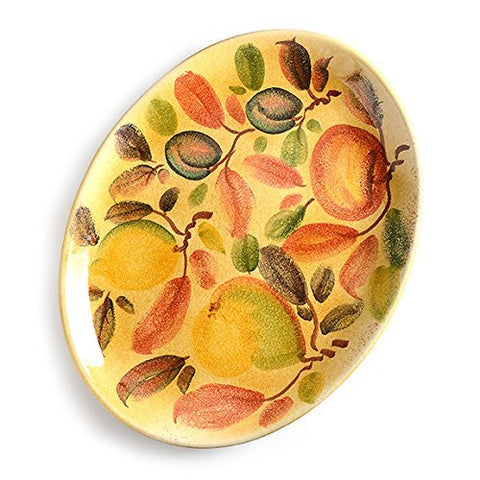 Frutta Laccata Oval Serving Platter