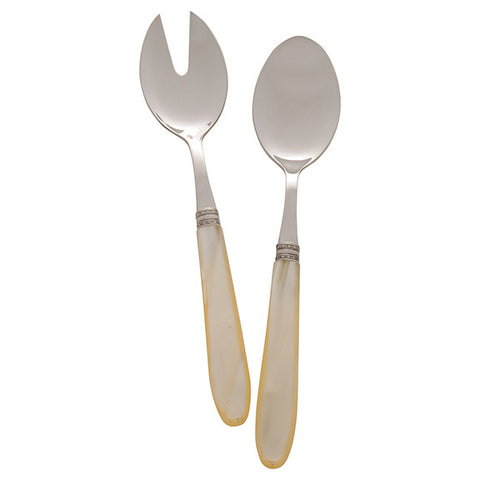 Michelangelo Salad Set in Ivory