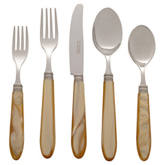 Michelangelo Honey Five Piece Place Setting