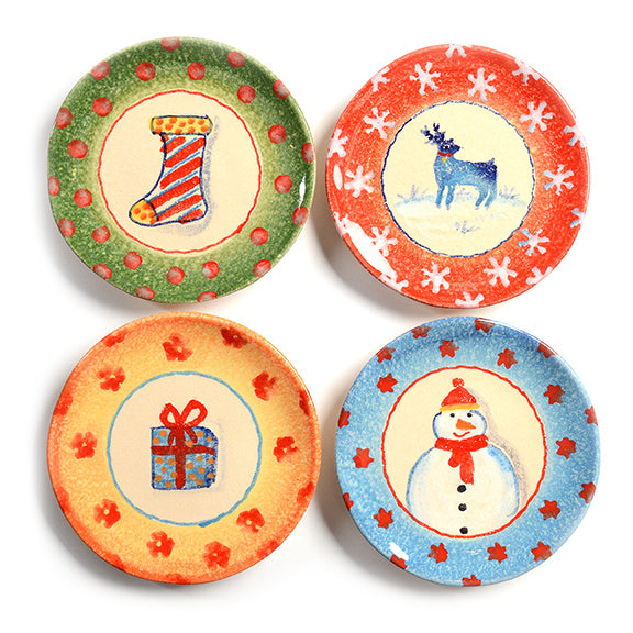 Natale Appetizer Plate II (set of 4)