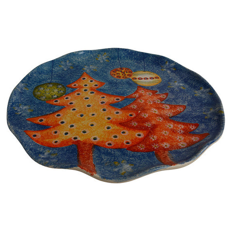 Natale Cake Plate