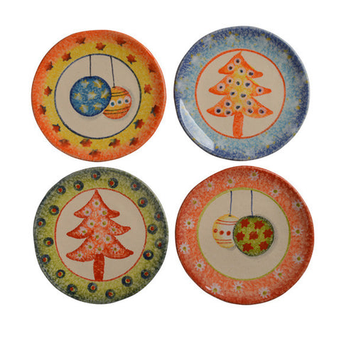 Natale Appetizer Plates (set of 4)