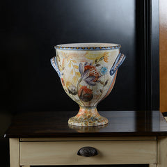 Graffiti Urn with Handles