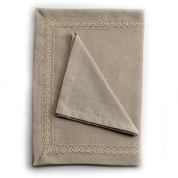 Biancheria Linen Placemat and Napkin