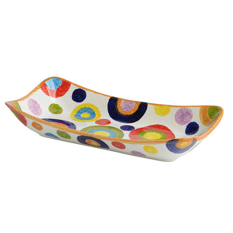 POP Circle Small Rectangular Platter