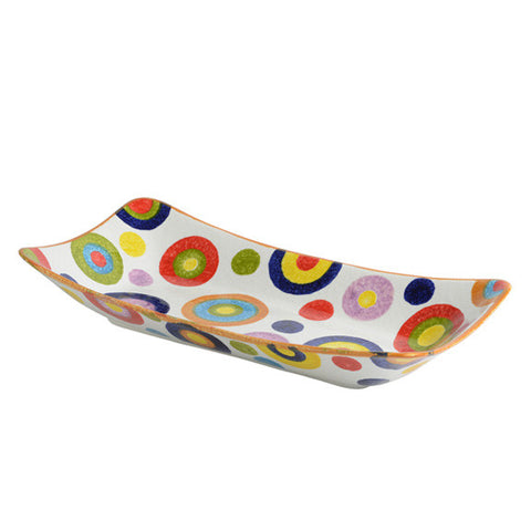 POP Circle Large Rectangular Platter