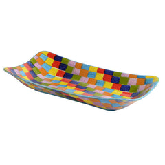 Check Large Rectangular Platter