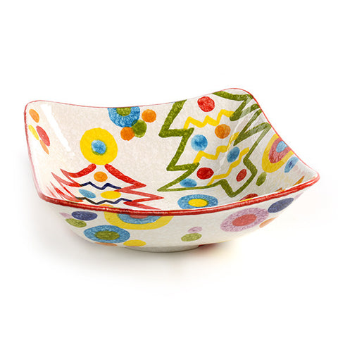 POP Christmas Large Square Bowl