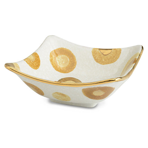 POP Gold Square Bowl