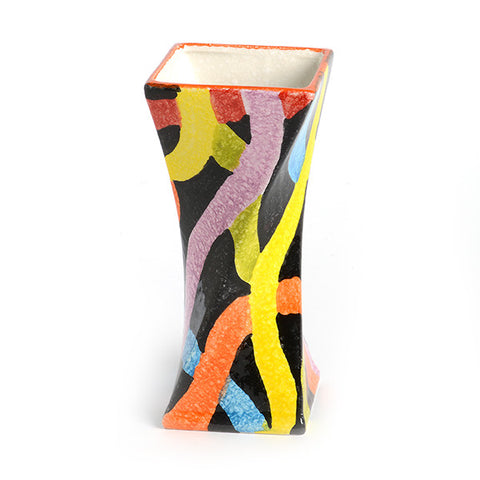 POP Nero Small Twisted Vase
