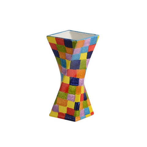 POP Check Small Twisted Vase