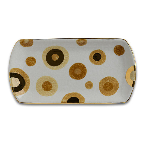 POP Gold Small Rectangular Tray
