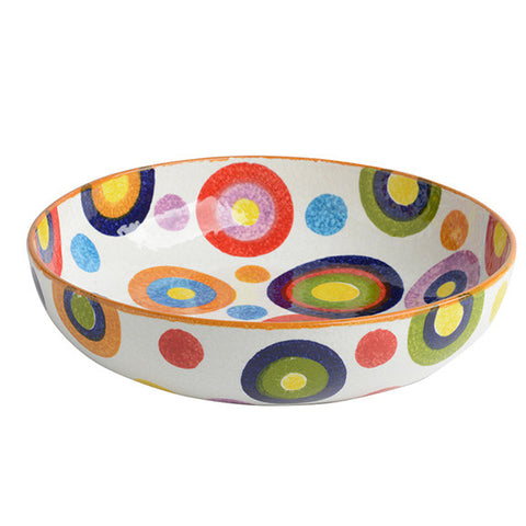 POP Circle Large Shallow Bowl