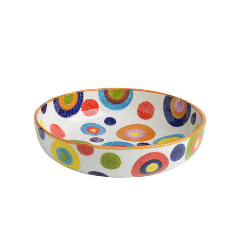 POP Circle Small Shallow Bowl