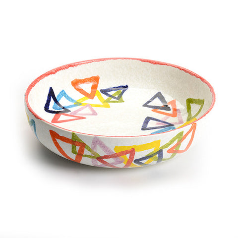 Serving Bowl from Our POP Triangle Collection