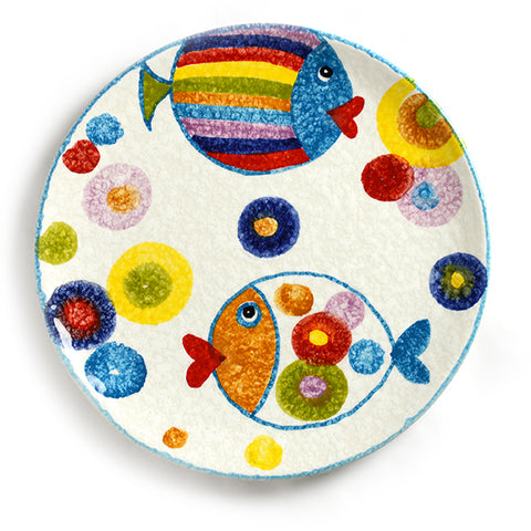 POP Waves Dinner Plate