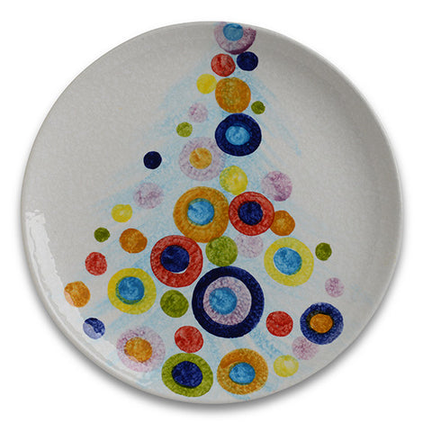 POP Christmas Tree Round Platter