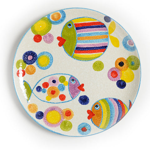 POP Waves Round Platter