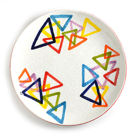 POP Triangle Round Platter