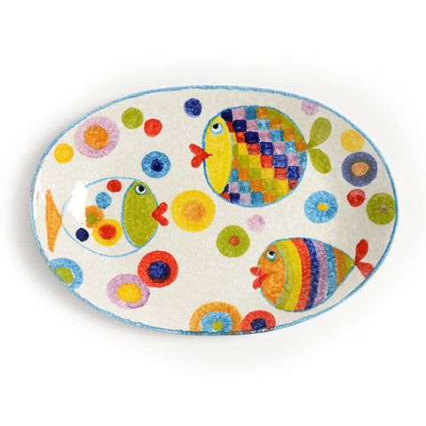 POP Waves Oval Platter