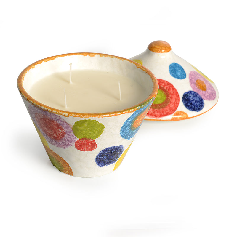 POP Circle Sugar Bowl Candle