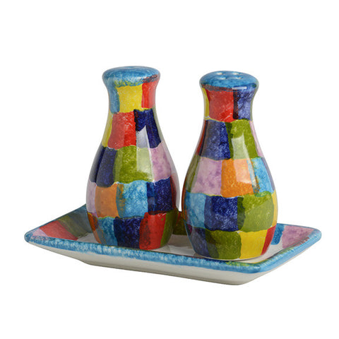 POP Check Salt and Pepper Shakers