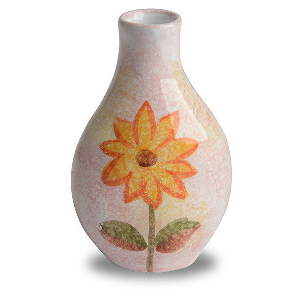 Handmade Italian Vase For Single Flower From The Primavera Collection