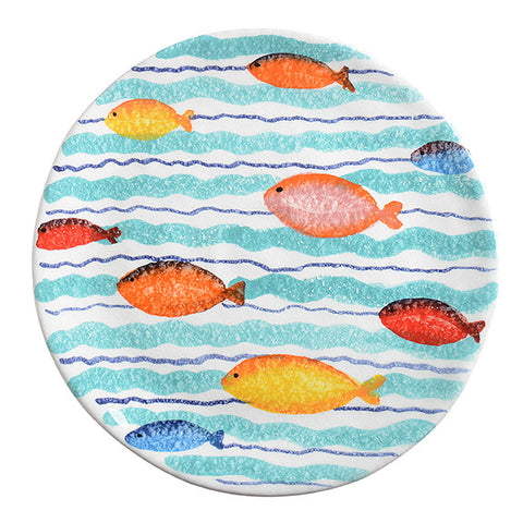 Porto Venere Waves Salad Plate