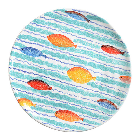 Porto Venere Waves Dinner Plate