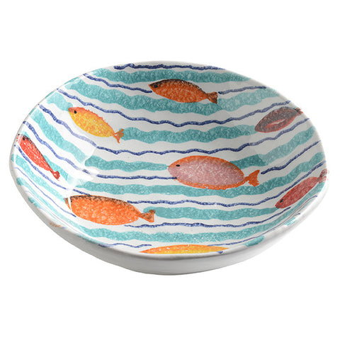 Porto Venere Waves Soup Bowl