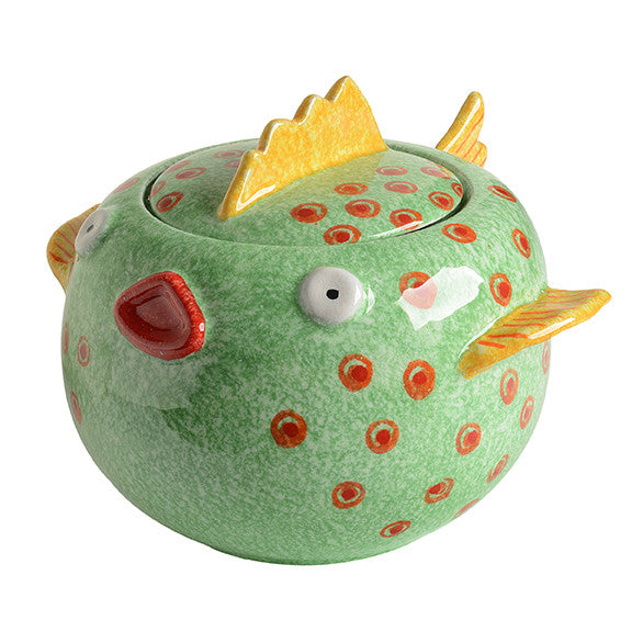 Porto Venere Large Fish Cookie Jar