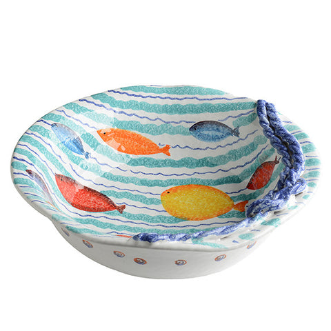 Porto Venere Rope Serving Bowl