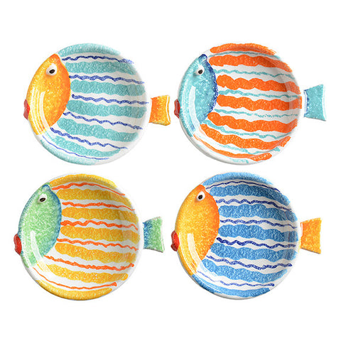 Porto Venere Fish Pinzimonio Dish (set of 4)