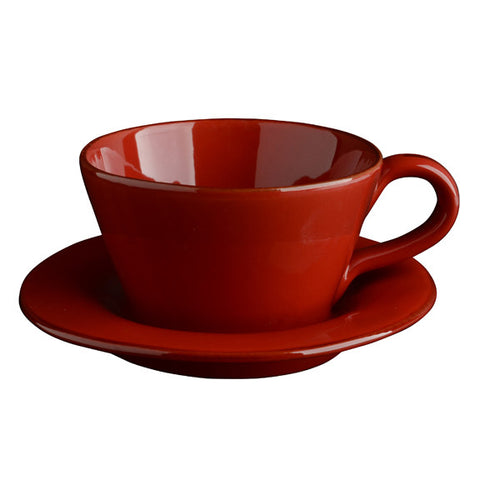 Rosso Latte Cup and Saucer
