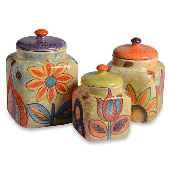 Roma Amor Canister Set
