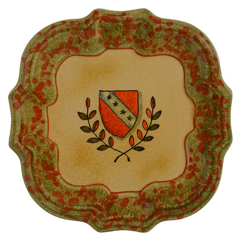 Signoria Firenze Green Dinner Plate