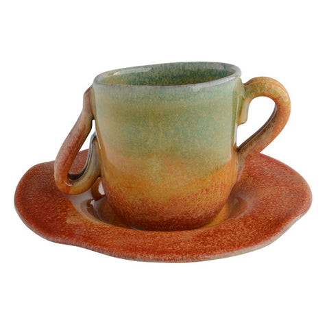 Sogno Toscano Undecorated Espresso Cup/Saucer