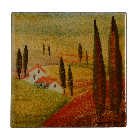"Sogno Toscano 4"" by 4"" Tile"