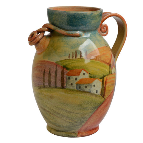 Sogno Toscano Giant Pitcher with Roped Spout