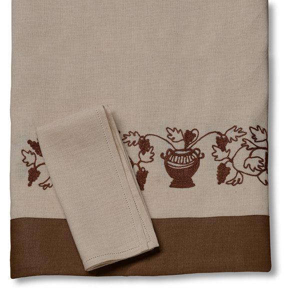 Grapes Tablecloth/ Napkins