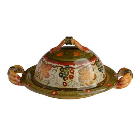 Terre Di Chianti Small Covered Dish with Handles