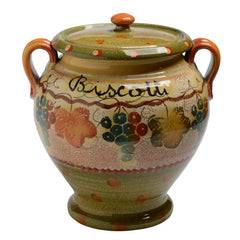 Biscotti Jar with Handles