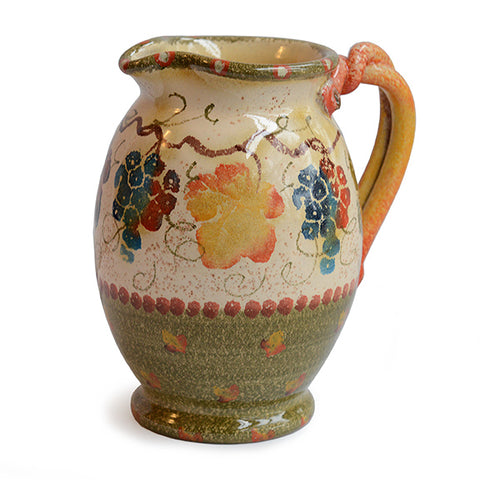 Terre Di Chianti Pitcher with Handles