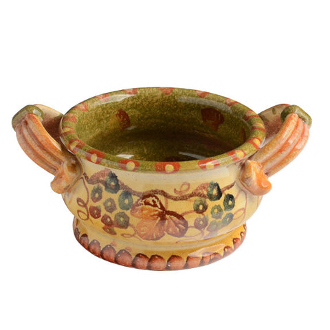 Terre Di Chianti Small Bowl with Handles
