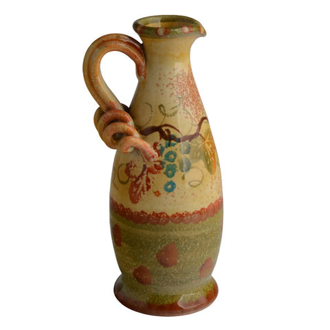Terre Di Chianti Oil Cruet with Ribbon Handle